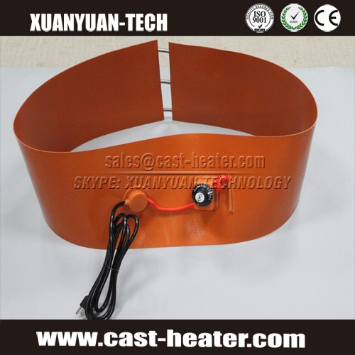Silicone Oil Biodiesel Plastic Metal Barrel Heaters