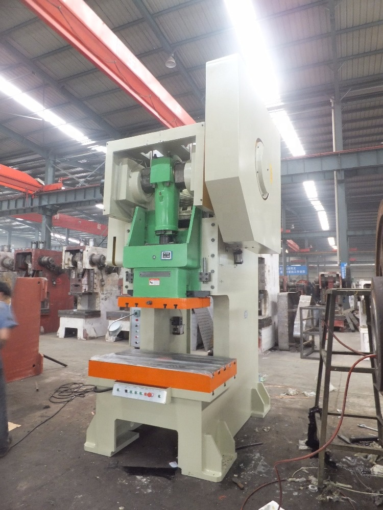 C frame single crank Eccentric Mechanical Power Press Machine  80 Ton Punch Press