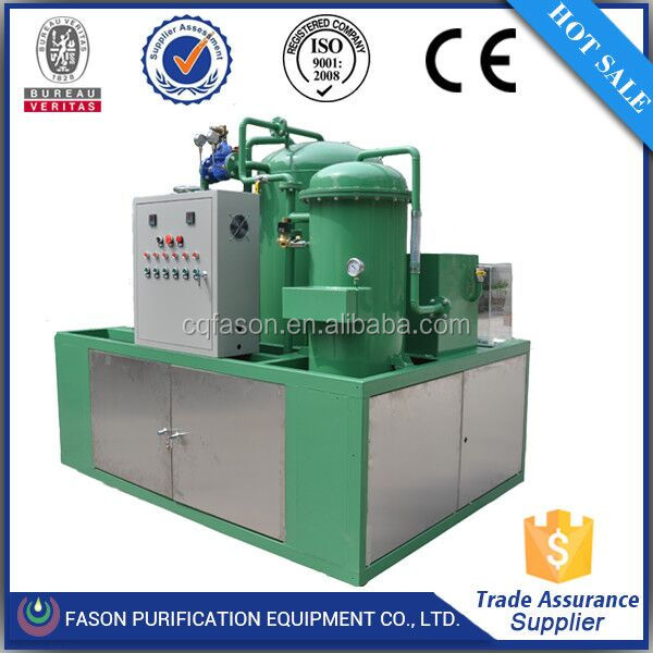 To assure years of troble-free service oil filtrating system