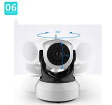 Family Security System Hd 720p Wireless Control Baby Monitor Wifi Talk Back Intercom Camera Baby Video Audio Monitoring Devices