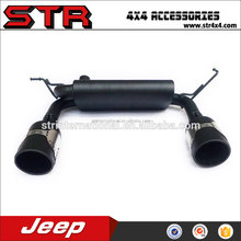 Exhaust with double pipes for Jeep Wrangler JK 4x4 auto accessories
