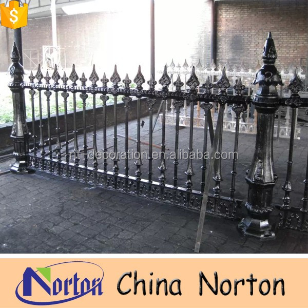 cheap ornamental cast iron fence finials NTIG-G028R