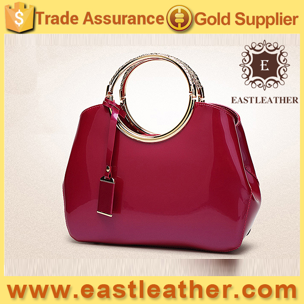 Vintage pu leather colorful strap tote bag hand bag wholesales