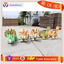 Sanhe Brand dinosaur scooter Funny electric ride on animals for kids