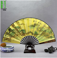 Big chinese decoration bamboo wall fan