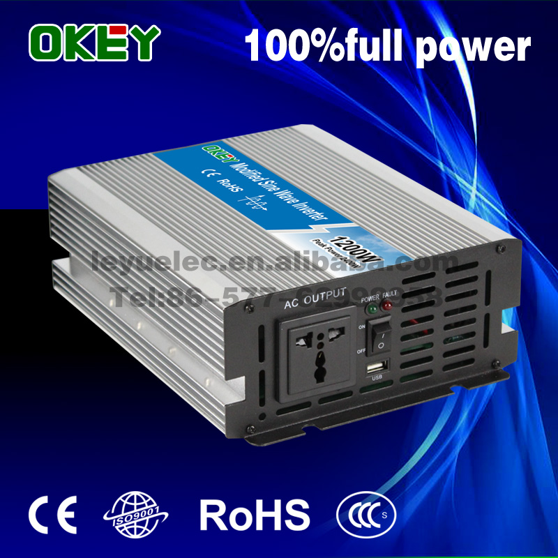 OPIP-1200-2-48 1200W Modified Sine Wave DC-AC Power inverter 48v solar air conditioner