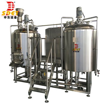 500l hot sale stainless steel micro complete brewing equipment