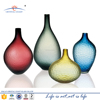 Wholesale large tall oval handblown glass mosaic vase factory