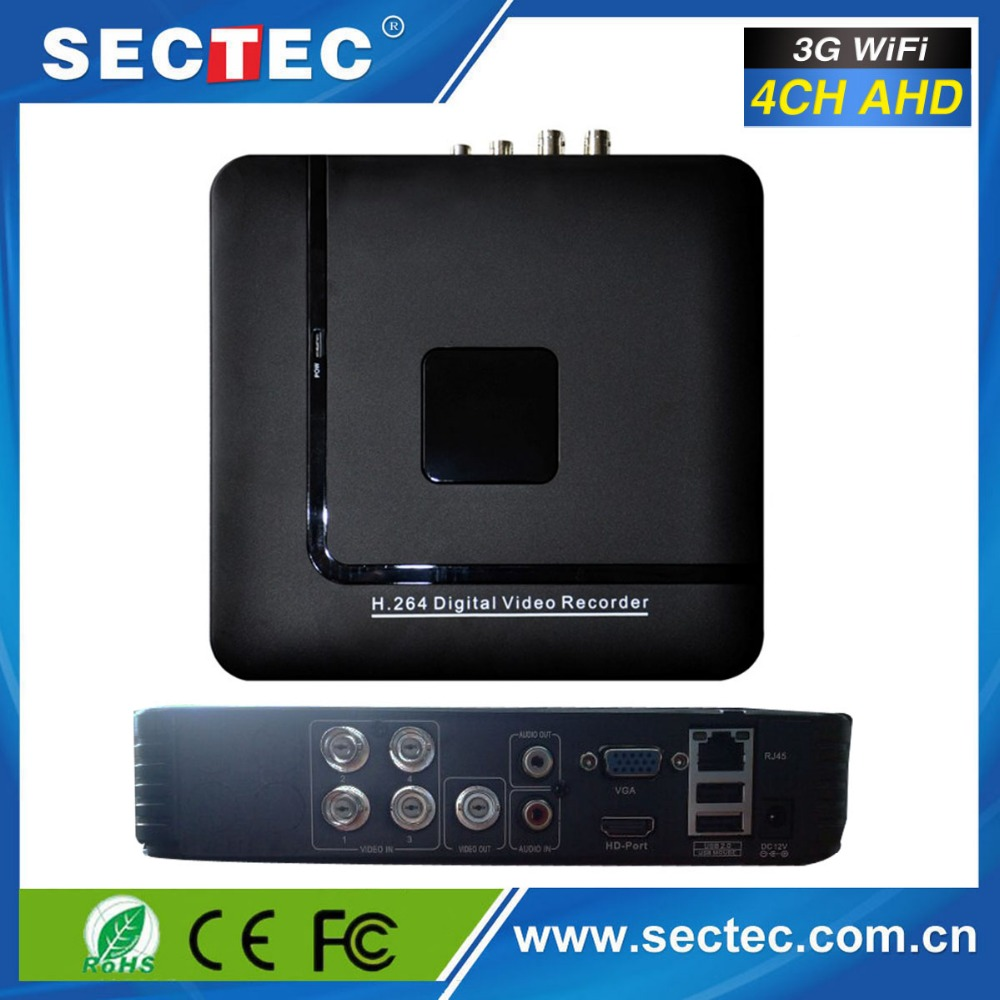 Latest technology cctv standalone P2P cloud 3g wifi dvr 4 channel digital video recorder