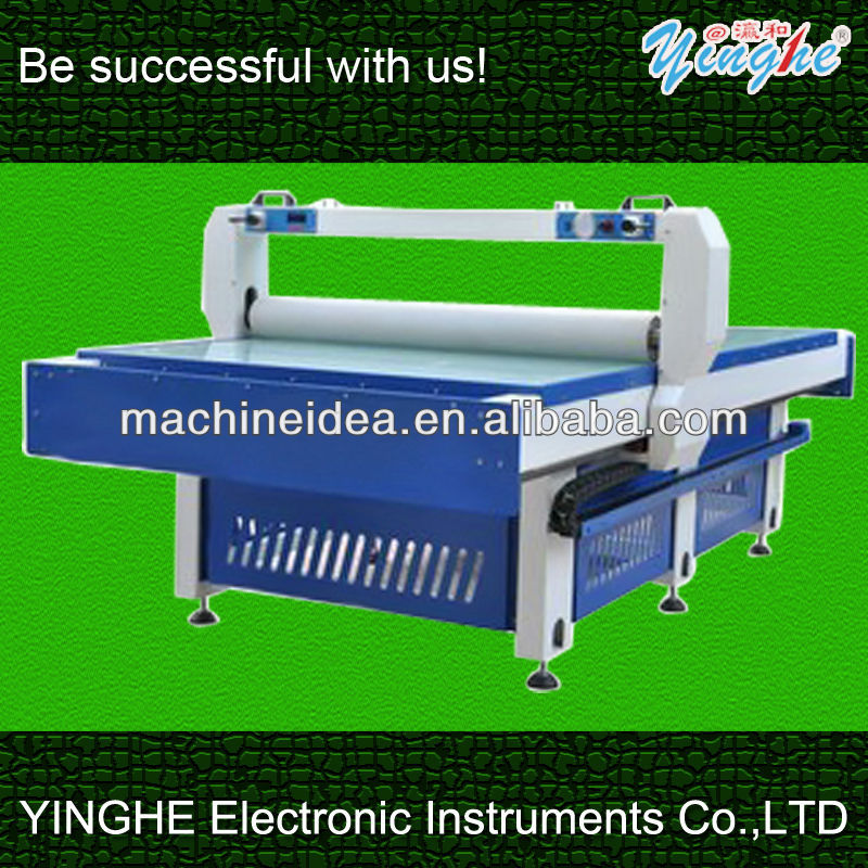 Flat laminating machine 1300x2500mm for glass PVC wood and so on YH-1530