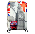 polycarbonate London England 20'' printed trolley luggage with Big Ben