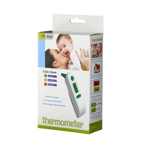 digital multifunction forehead and ear infrared thermometer