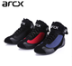 Brand ARCX Motorcycle Leather motorcycle shoes Boots Motocross Off Road Protective boot motorcycle men racing outdoor