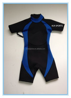 baby,kids,youth, junior 3/2 mm shorts shortie wetsuit top for surf,swim,dive,beach