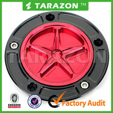 Tarazon brand aluminum alloy motorcycle gas cap for super moto