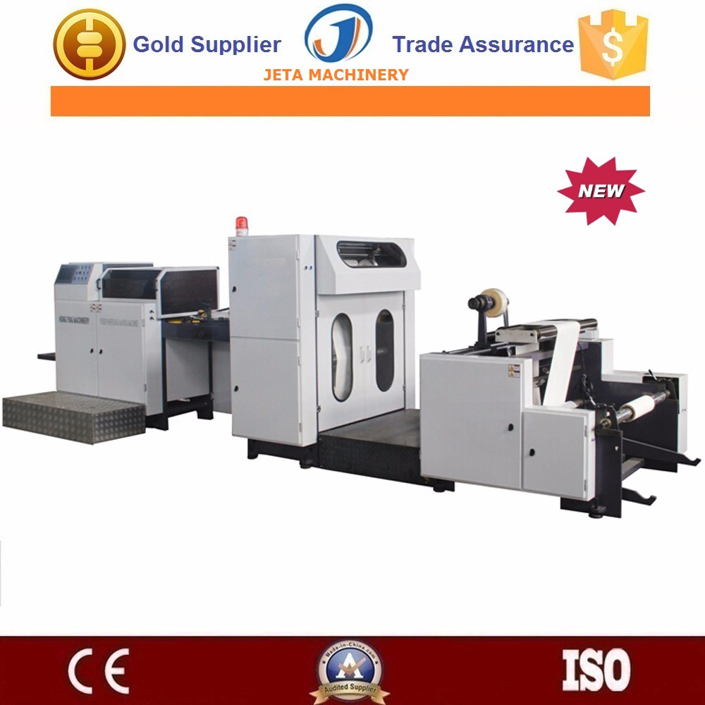 [JT-HY350]Automatic sharp bottom paper bread bag making machine