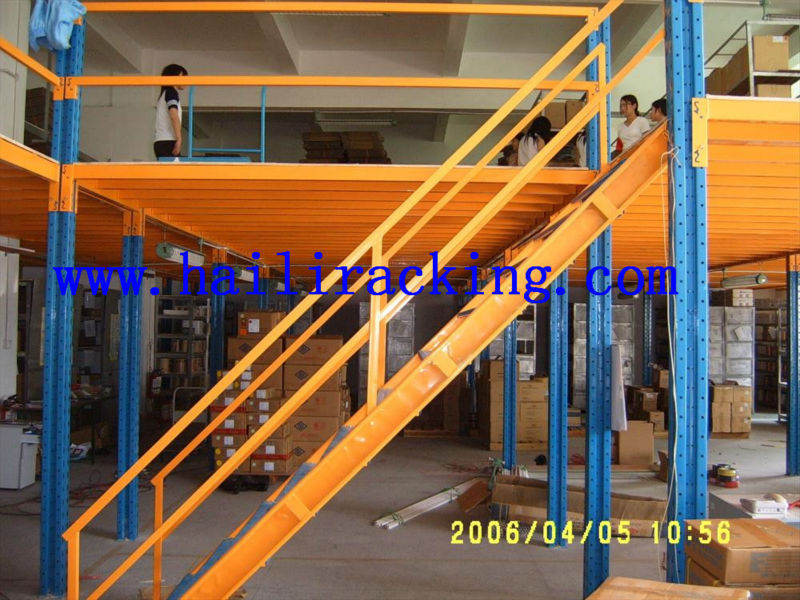 Evergrows adjustable Q235 power coating ISO9001&CE multi-layer steel office mezzanine