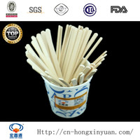 100% Natural Birch Material Disposable Wooden Coffee Stirrer