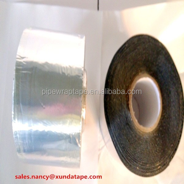 manufacture self adhesive aluminum asphalt/ bitumen waterproofing sealing tape