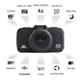 For Russian Market Best Ambarella Car Video Camera GPS 170 degree Wide View Angle Video Recorder For Car