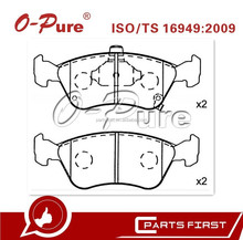 ISO Certificate brake pad GDB3163 brake pads for Toyota Avensis