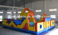 bouncy castle,inflatable jumping castle,frozen castle as inflatable obstacle course