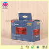 High quality cube shaped electronic packing cardboard box with handle