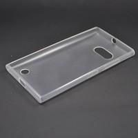 2015 new trendy original clear tpu mobile phone case for nokia 730