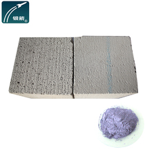 Aluminum powder for cellular light concrete