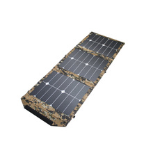 2017 New Product Waterproof Solar Panel for Outdoor Travel Foldable Charger