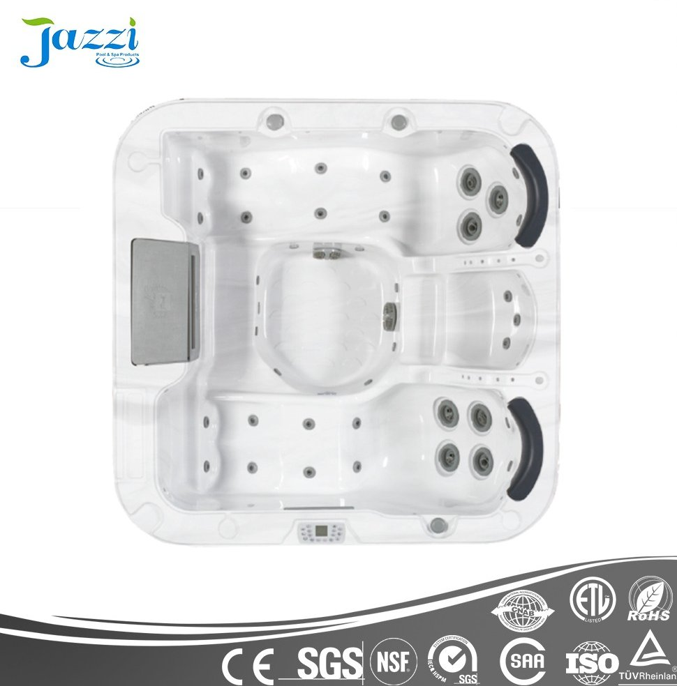 JAZZI Whirlpool Perfect Water Massage Spa Acrylic Spa Sex SKT338B-2