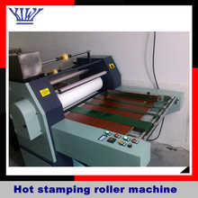 Hot Stamping Roller Machine for Gold foil decal automatic hot foil stamping machine hot stamping machine