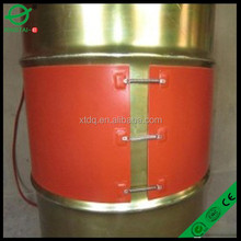 15 gallon oil drum silicon rubber heater factory