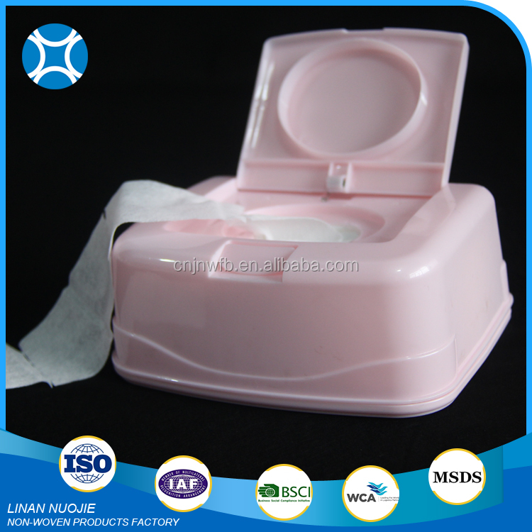 Factory Direct Sale double color facial cotton pad pink white pad