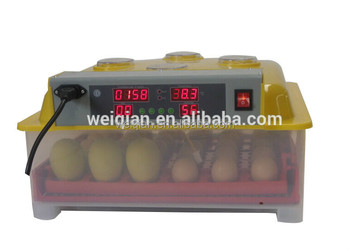 144 eggs newest automatic quail egg incubator CE approved