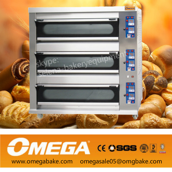commercial bakery 3/double deck oven