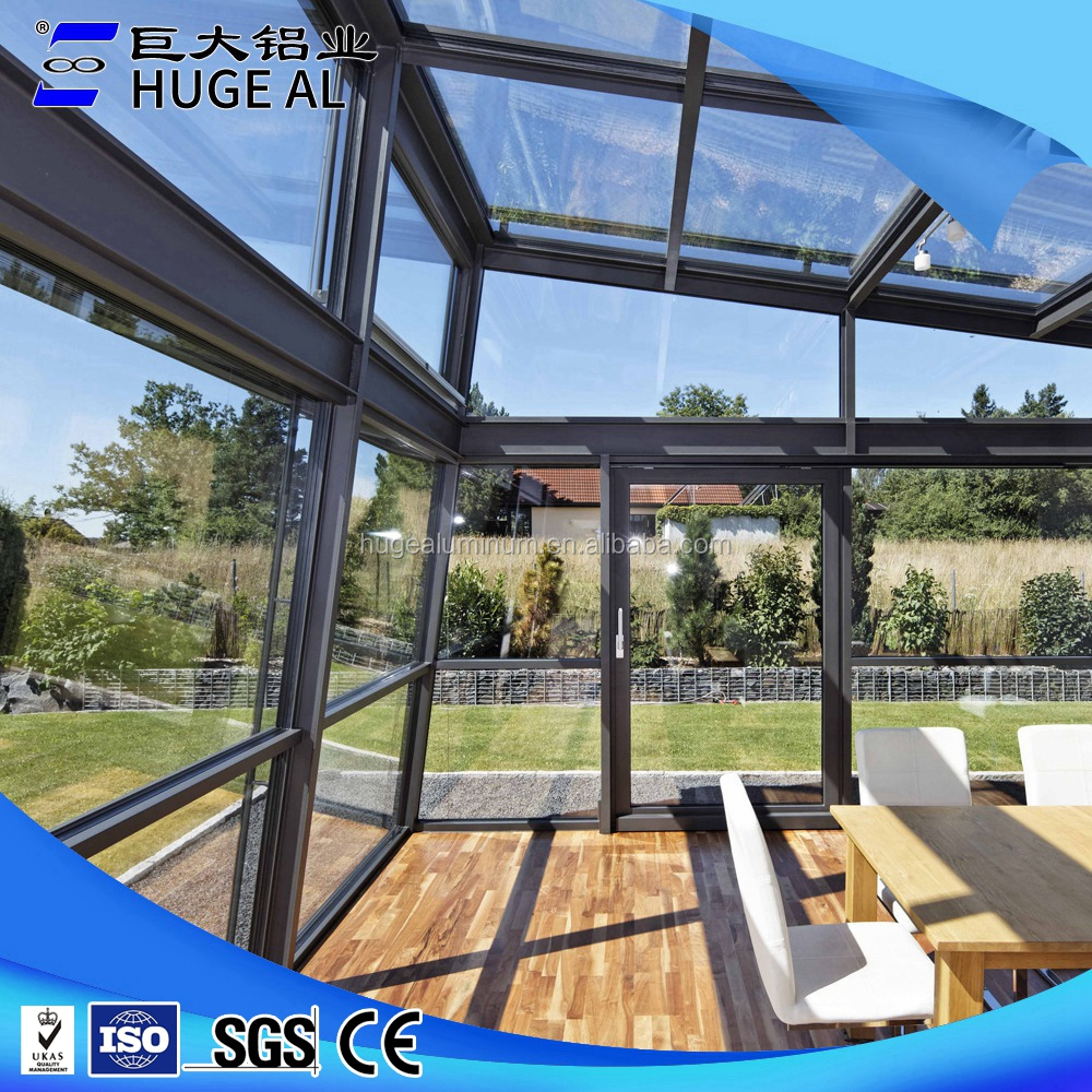 Top quality building glass sun room