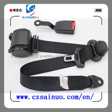 3 point Automobile Safety Seat Belts,removable seat belts
