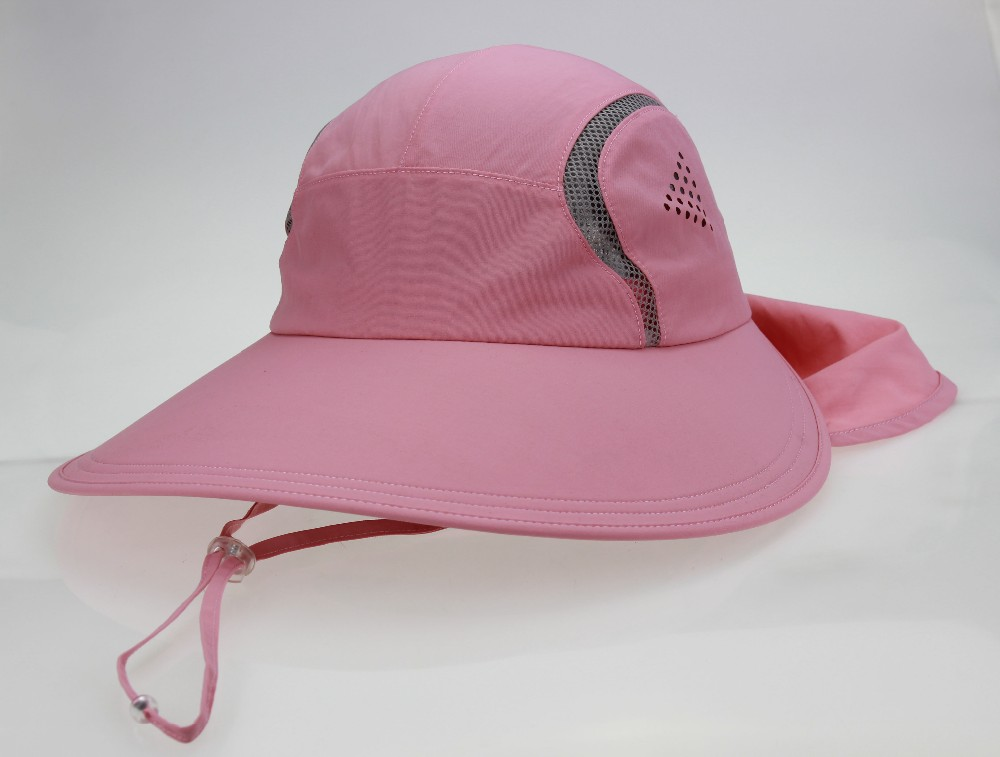 Outdoor Fishing Cap Women Sun Protection Hat With Neck Cover