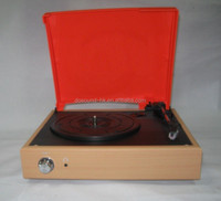 USB turntable player vinyl record player with radio mp3 converter