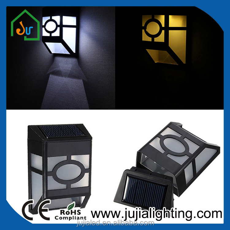 professional manufacturer specialized in outdoor solar led wall light