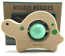 Buddies classic collectible keepsake, smooth-sanded solid european beech safe non-toxic water based colors wooden crafts turtle
