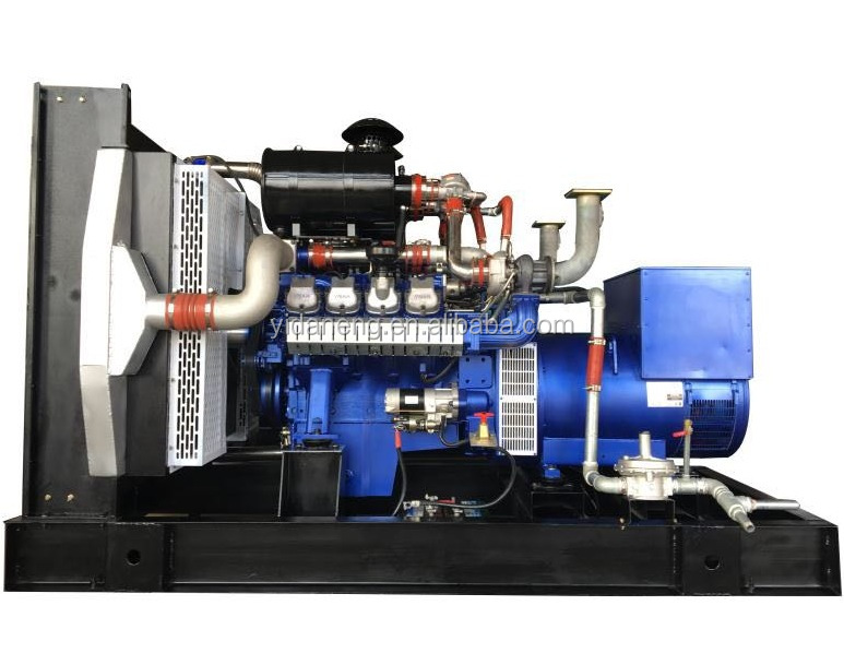 200kW/50Hz Natural gas generator 3 phase Sync