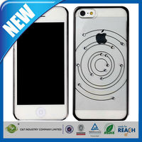 C&T Delicate diamond circle design hard cell phone case for iphone 5
