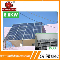 High-efficiency silicon pv solar energy panel system for industrial use