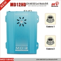 MD12 series sd card 2 ch mobile dvr with 2 port