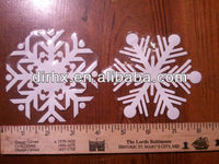 Snowflake Window Cling Christmas Decorations Stickers Wall Stickers