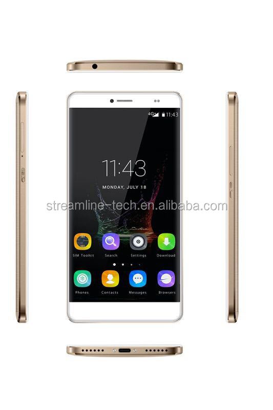 6.0inch 1920X1080p with 4G smart phone MT6750 Octa-core 1.5 GHz Processor