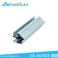 solar panel mounting aluminum rail for DIY design for home system,solar panel Mounting structure