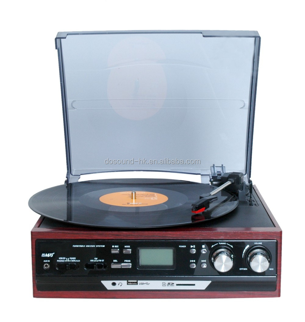 Professional Belt-Driven Turntable&Music Vinyl Records